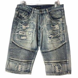 CJ Black Men's/Teen's Denim Shorts Sz. 32